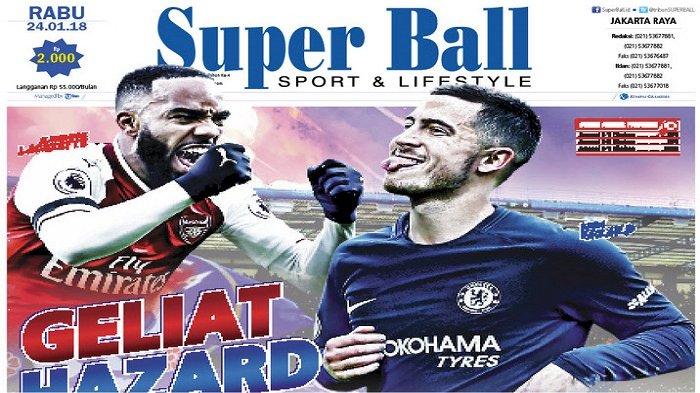 Peringatan Eden Hazard untuk Arsenal