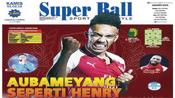 Pierre-emerick Aubameyang Merasa Seperti Thierry Henry