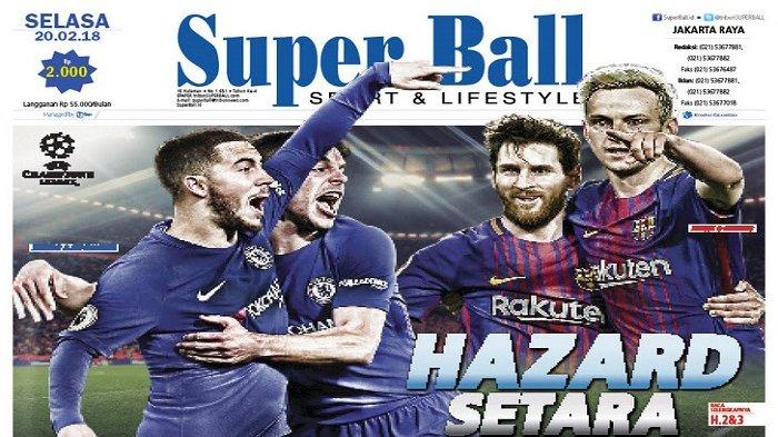 Eden Hazard Siap Buktikan Diri Setara dengan Lionel Messi