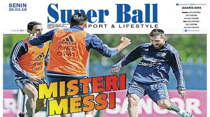 Posisi Lionel Messi di Timnas Argentina Masih Misteri