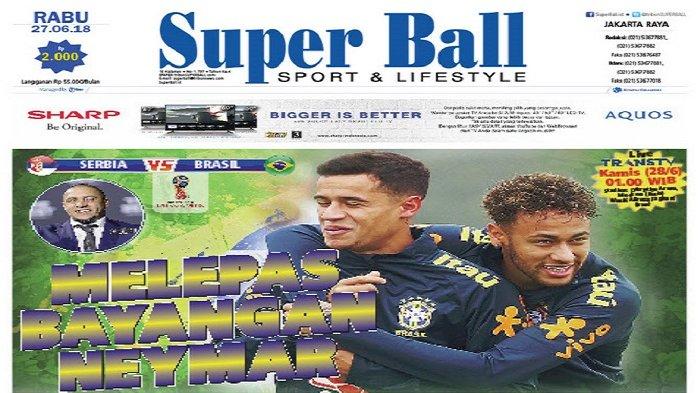 Neymar Bukan Satu-satunya Pilihan Brasil