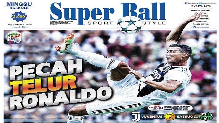 Massimiliano Allegri Ingin Cristiano Ronaldo Pecah Telur