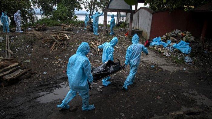Pecahkan Rekor Dunia, Infeksi Virus Corona di India Tembus 18 Juta, Kasus Baru Hampir 380 Ribu