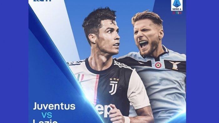 Jadwal Bola Akhir Pekan via Live Streaming, Juventus vs Lazio Disiarkan Langsung RCTI