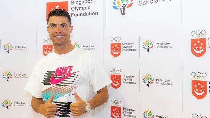Ketika Sinar Terang Kebintangan Cristiano Ronaldo Diadu Tendangan Geledek Harry Kane di Singapura