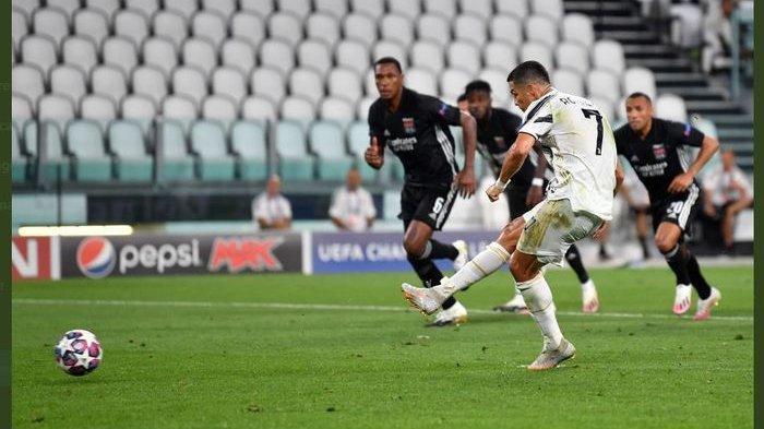 Update Pertandingan Liga Champions Babak Pertama Juventus Vs Lyon Sama Kuat 1-1