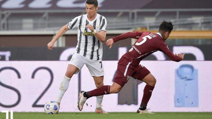 Hanya Main Imbang 2-2 Lawan Torino, Juventus Terancam Gagal Raih Tiket Liga Champions, Ronaldo Kesal