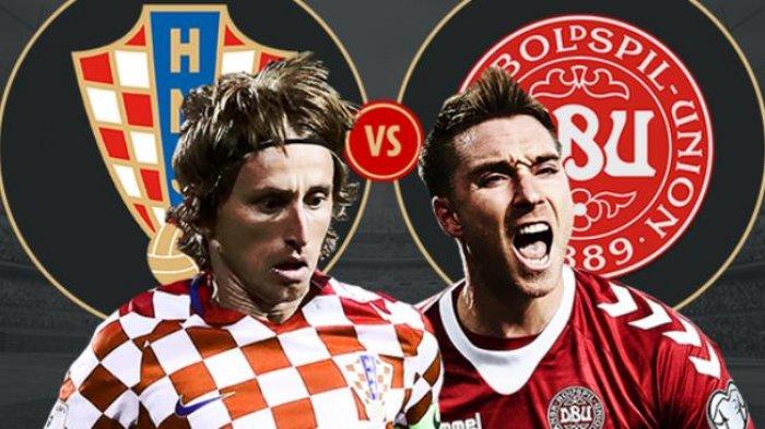 Duel Sesama Idola Tottenham dan Luka Modric cs Diunggulkan Kroasia vs Denmark