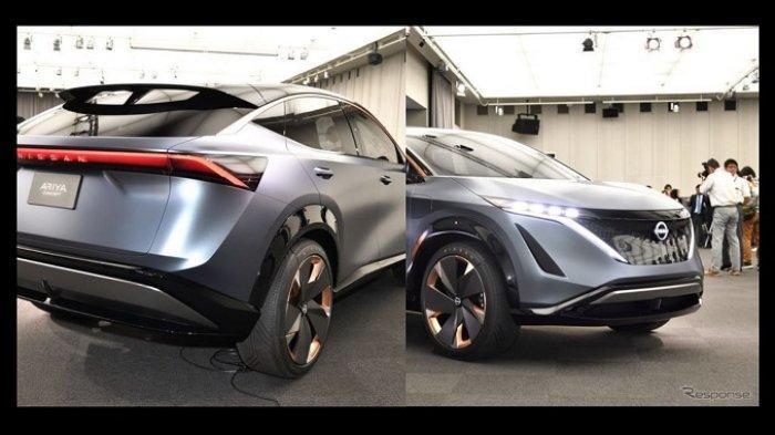 Mobil Listrik Nissan Ariya Meluncur 15 Juli 2020, Adopsi Teknologi Nissan GT-R