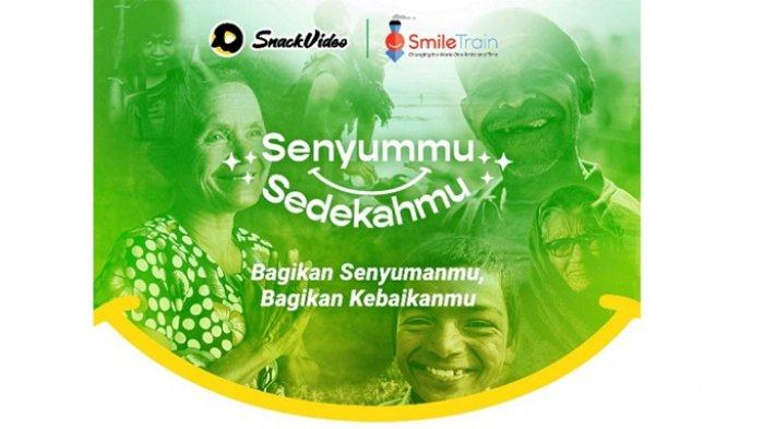 Sambut Ramadan, SnackVideo dan SmileTrain Ajak Berdonasi untuk Anak-anak Penderita Bibir Sumbing