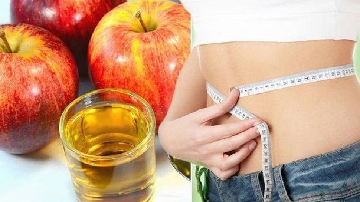 Ingin Tubuh Singset, Coba Pakai Cuka Sari Apel Untuk  Menurunkan Berat Badan dan Lemak Anda