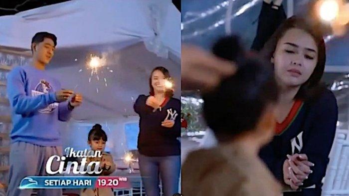 Sinopsis Ikatan Cinta 11 Maret di RCTI Andin Berusaha Bahagia Bersama Aldbaran dan Reyna