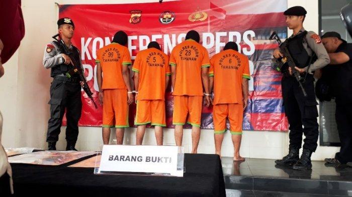 4 Pelaku Curanmor di Bogor Terima Perintah Berdasarkan Orderan Konsumen