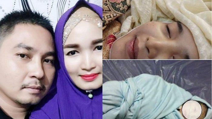 Viral, Pria Curhat Setelah Istrinya Meninggal Lahirkan Anak Kedua, Fotonya Masih Tersenyum
