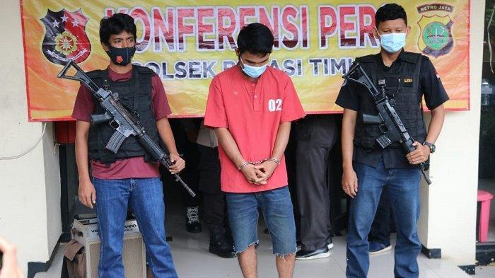 Rekaman CCTV Jadi Petunjuk Polisi Bekuk Seorang Pelaku Pencurian Warung Nasi