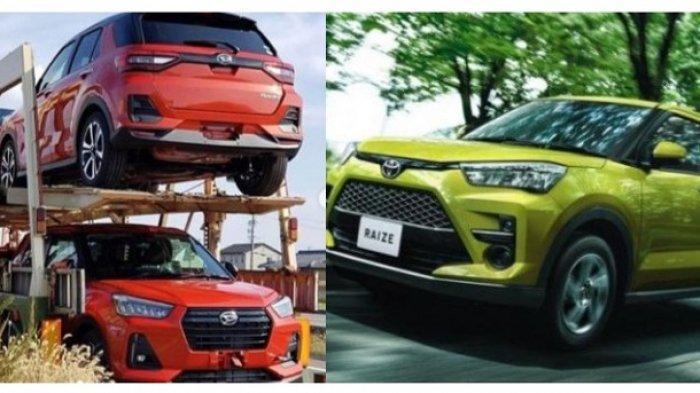 Daftar Harga Daihatsu Rocky dan Toyota Raize Berbagai Tipe, Simak Perbandingan Harganya