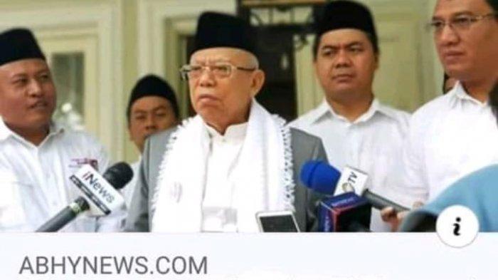 CEK FAKTA Wapres Pemerintah Gak Sengaja Memakai Dana Haji Jadi Gak Berdosa, Ini Penjelasannya