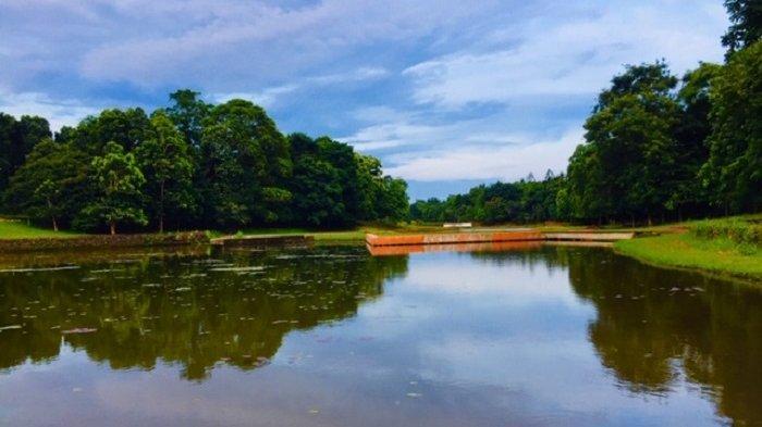 Hingga kini, Danau Dora di Kebun Raya Cibinong, Kabupaten Bogor, belum dibuka untuk umum, Sabtu (24/10/2020).
