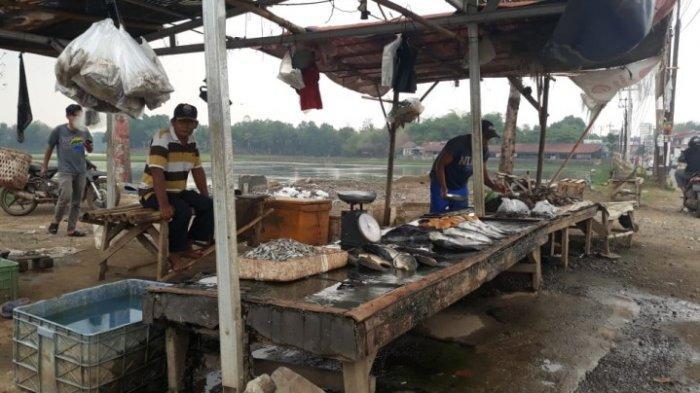 Pasar Ikan Situ Tunggilis Jual Berbagai Macam Ikan Segar Dipatok Harga Warta Kota