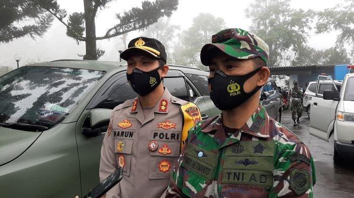 Dandim 0621 Kabupaten Bogor Ingatkan Relawan Banjir Bandang Gunung Mas Puncak Bogor