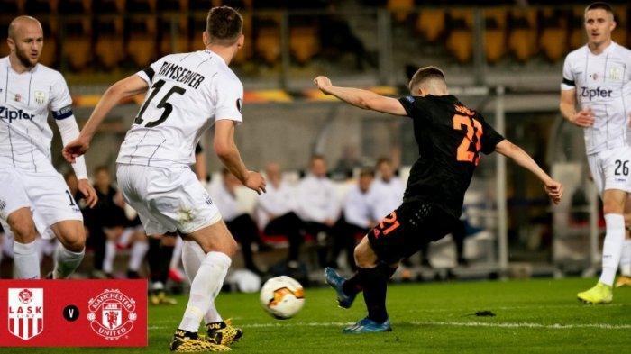 Hasil Lengkap Liga Europa, MU Menang Paling Besar 5-0, Terlalu Perkasa untuk Tuan Rumah LASK Linz