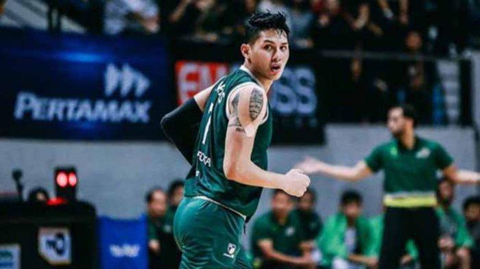 Daniel Wenas pemain timnas Basket Indonesia juga bergabung dengan tim Bali United Basketball