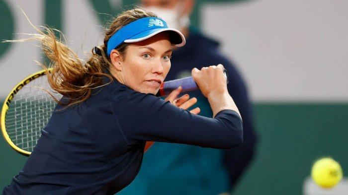 Danielle Collins harus mengakui keunggulan rekan senegaranya Sofia Kenin di perempat final Prancis Terbuka