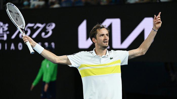 Lolos ke Final Australia Open, Daniil Medvedev Naik ke Peringkat 3 Dunia Geser Dominic Thiem