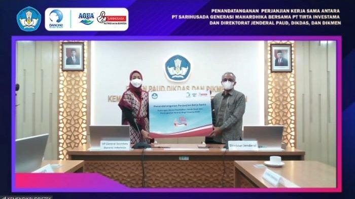 Danone Indonesia dan Kemendikbudristek Jalin Sinergi untuk Memaksimalkan Akses Pendidikan Anak