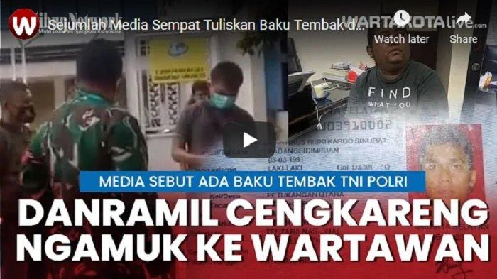 Sejumlah Media Sempat Tulis Ada Baku Tembak di Cafe RM, Danramil 04 Cengkareng Marahi Wartawan