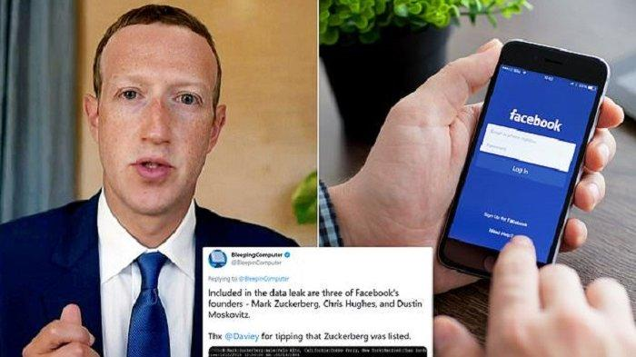 WASPADA, 553 JUTA No HP dan Data Pribadi Pengguna Facebook Bocor, Termasuk Ponsel Mark Zuckerberg