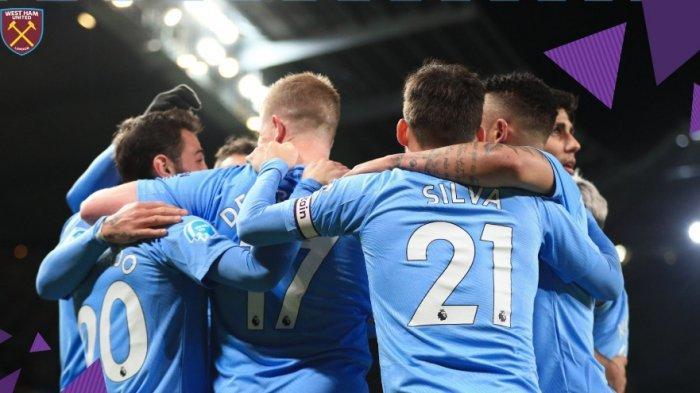Sedang Berlangsung Man City vs West Ham 2-0, Kevin De Bruyne, Bikin Asist dan Gol Lalu Diganti