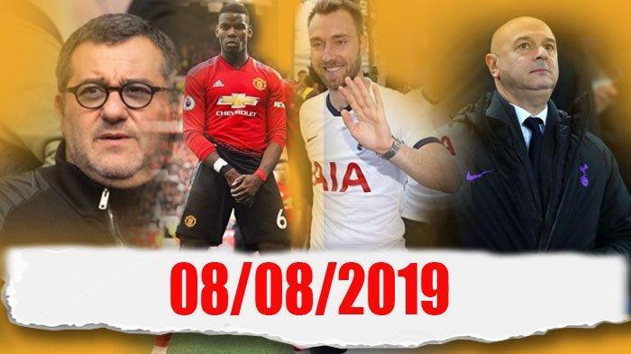 Manchester United, Paul Pogba, dan Christian Eriksen Ibarat Cinta Segitiga