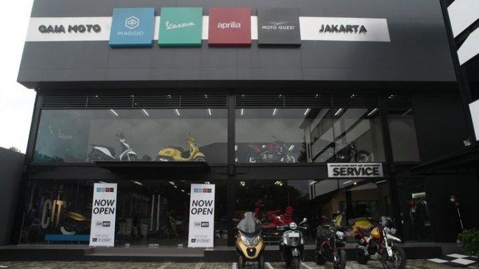 Piaggio Indonesia Buka Dealer Premium Berisi Empat Brand Italia di Jakarta