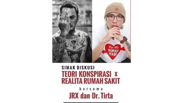 Jerinx SID dan dr Tirta Sebut Narasi Negatif Virus Corona Sebabkan Ketakutan Masyarakat Indonesia