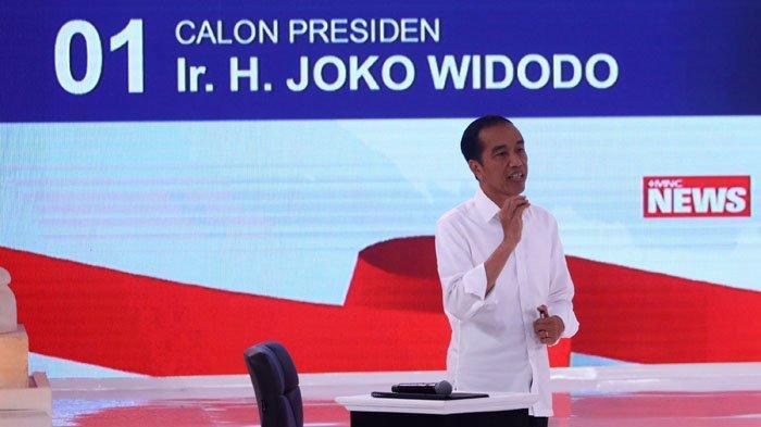 Kubu 01 Bantah Jokowi Pakai Alat Bantu Saat Debat Kedua Pilpres 2019