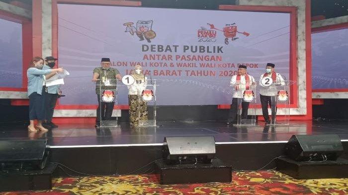 Pradi Supriatna Tanyakan Infrastruktur di Debat Publik Pilkada Depok, Idris Pamer Penghargaan