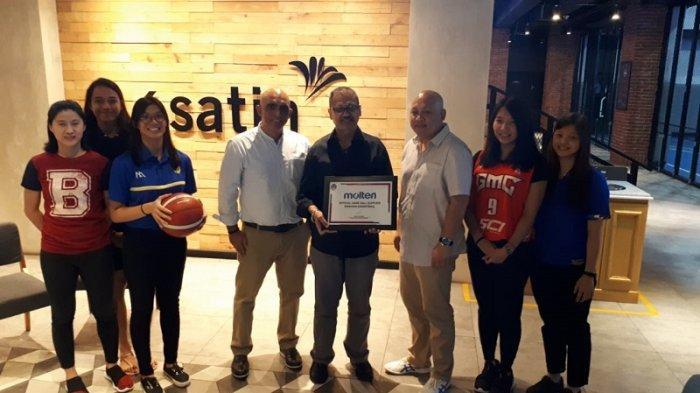 Bantu Kembangkan Bola Basket Putri Indonesia, Molten Kembali Dukung Srikandi Cup