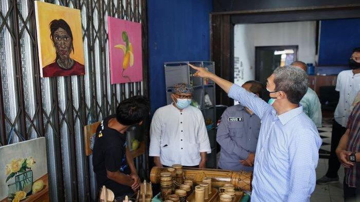 Dedie A Rachim Resmikan Galeri UMKM di Kelurahan Menteng, Aplikasi Bogor Hitz Sedang Dibangun