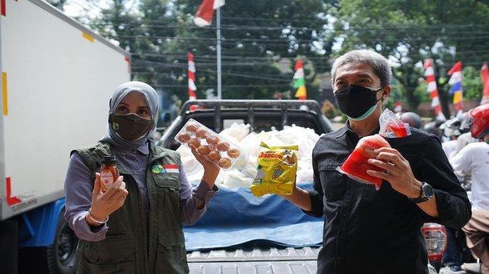 Lagi Kota Bogor Dapat Bantuan di Tengah Pandemi Covid-19, 4 Perusahaan Berikan 1.000 Paket Sembako