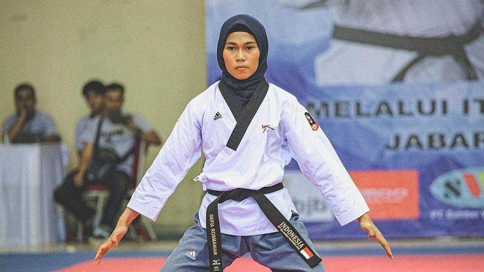 Defia Rosmaniar Atlet Taekwondo Putri Jabar Tetap Jaga Prokes Ketat Covid-19