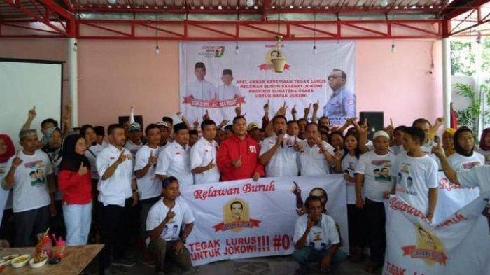 Banyak Jalankan Pembangunan, Jokowi Dapat Dukungan dari Buruh