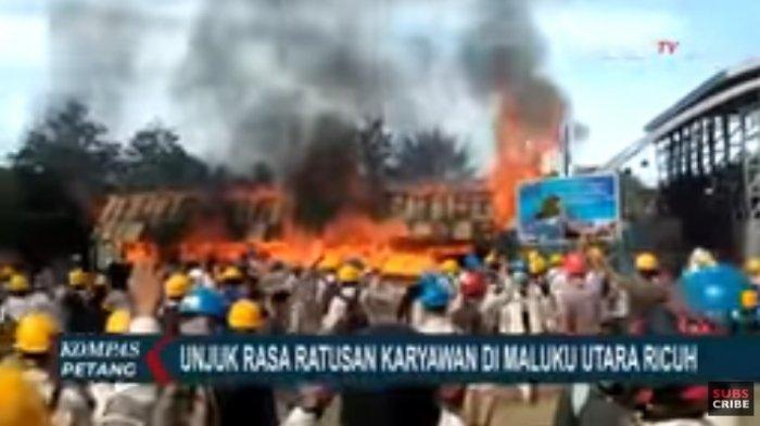 Duduk Perkara Demo di Hari Buruh Berujung Pembakaran dan Penjarahan Pabrik, 11 Orang Ditangkap