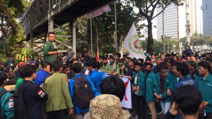 Ribuan Mahasiswa Tangsel Siap Geruduk Istana Negara Minta UU Cipta Kerja Dibatalkan