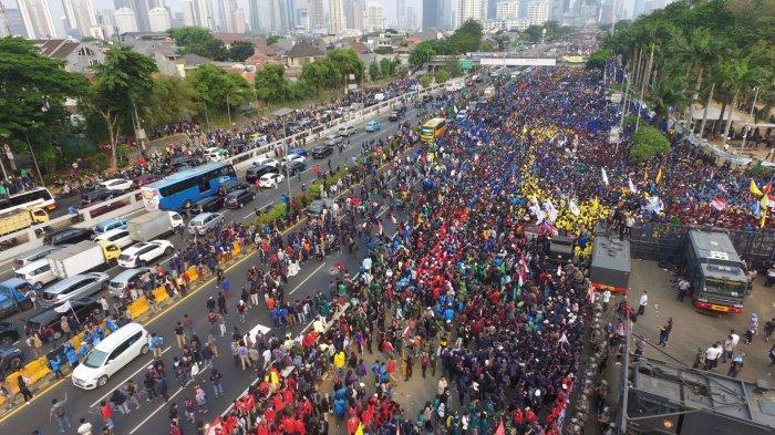Demo Tolak UU Cipta Kerja, Besok Giliran Anggota Badan Eksekutif Mahasiswa Geruduk Istana