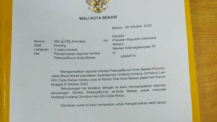 Setelah Berdialog Panjang Buruh SPSI Berhasil Bujuk Wakil Wali Kota buat Surat untuk Presiden