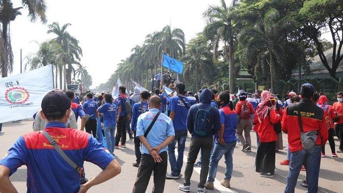 Demo Tolak UU Cipta Kerja, Warga Tangerang Diimbau Hindari Jalan Protokol Lokasi Aksi Buruh