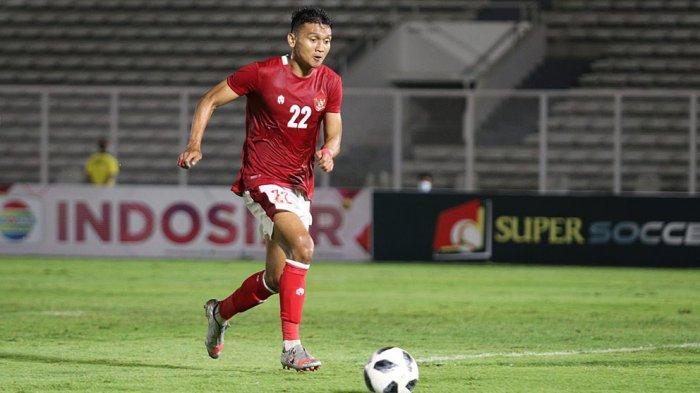 Dendy Sulistyawan striker Bhayangkara Solo FC dipanggil Shin Tae-yong ikut TC Timnas Senior