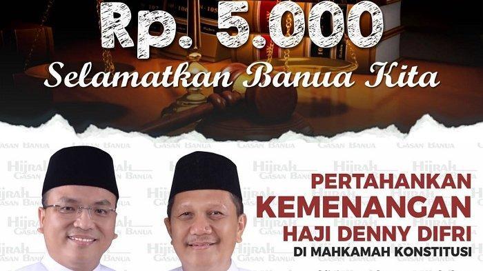 DENNY Indrayana Galang Dana Rp 5.000 untuk Gugat Hasil Pilkada 2020 Kalsel ke Mahkamah Konstitusi