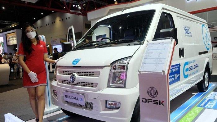 DFSK Luncurkan Mobil Listrik Niaga Gelora E Pada Ajang IIMS Hybrid 2021